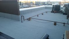 General Roofing Grs On Twitter Flat Roof Replacement Roofing Flat Roof