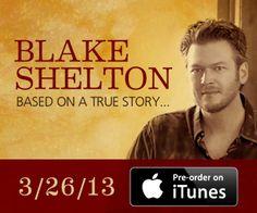 Blake Shelton coming to Joe's on Weed Street in Chicago 3-29-13