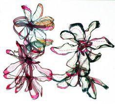 Más objetos de decoración en plástico reciclado -