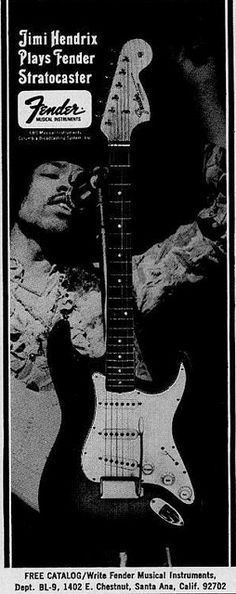 Fender Jimi Hendrix 1968 on Flickr.