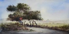 John Martin, Country Roads, Paintings, Landscape, Scenery, Paint, Painting Art, Painting, Painted Canvas