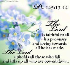 #psalm 145:13-14