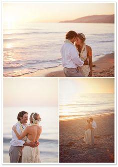 Anelise   Tyler's Boho Chic Beach Wedding by I Heart My Groom