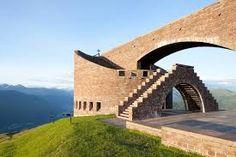 Chapel of St. Mary of the Angels, Monte Tamaro, Ticino. 1990 -1996. Mario Botta.