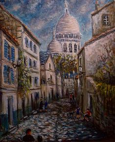 Rue Saint Rustique a-Montmartre,PARIS