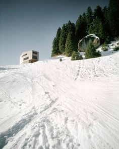 Built by AFGH in Scheidegg, Germany with date 2004. Images by Valentin Jeck. Holiday house on the Rigi, Scheidegg. The building was arranged on the periphery of the property so that the distance...