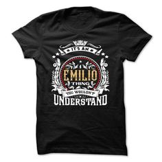 EMILIO .Its an EMILIO Thing You Wouldnt Understand - T  - #hoodies for boys #white hoodie mens. PRICE CUT => https://www.sunfrog.com/Names/EMILIO-Its-an-EMILIO-Thing-You-Wouldnt-Understand--T-Shirt-Hoodie-Hoodies-YearName-Birthday-54140570-Guys.html?60505