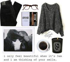 """""""thinking of your smile"""" by liquidmoon ❤ liked on Polyvore"""