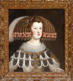 Mariana of Austria, daughter of Emperor Ferdinand III and Queen of Spain. Art History, Canvas Painting, Classic Paintings, Art, Woman Painting, Infanta Margarita, 18th Century Paintings, Painting, Portrait Art