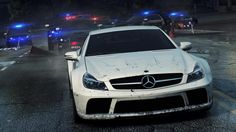 SLS AMG and SL 65 AMG: 'Need for Speed: Most Wanted 2'