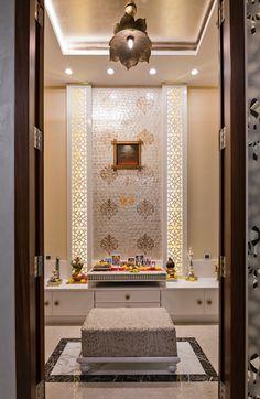 Pooja Door Design, Puja Room, Indian Homes, Room Pictures, House Design, Contemporary, Interior Design, Architecture, Temple