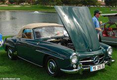 190SL, circa 1960 (pic source: kenrockwell.com); For all your Mercedes Benz 190SL restoration needs please visit us http://www.bruceadams190sl.com/
