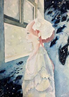 雪の朝 by ソラコ | CREATORS BANK http://creatorsbank.com/solaco/works/295898