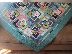 Neptune bento box quilt | I made this bento box quilt based … | Flickr