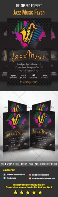 Harmony Flyer Template  Flyer Template Party Flyer And Print
