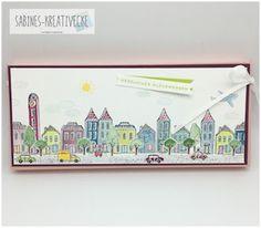 Sabines-Kreativecke: Ich stempel mir eine Stadt.....
