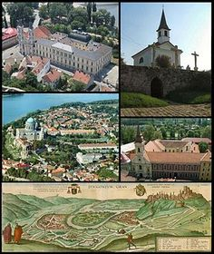 Esztergom , Hungary Heart Of Europe, Budapest Hungary, Homeland, Big Ben, River, Mansions, Architecture, House Styles, Building