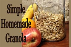 How to Make Simple Homemade Granola