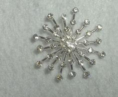 Rhinestone abstract button for Bridal Wedding by DIYBridalSupplies, $6.50