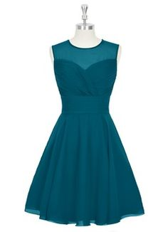 Shop Azazie Bridesmaid Dress - Scarlett in Chiffon. Find the perfect made-to-order bridesmaid dresses for your bridal party in your favorite color, style and fabric at Azazie.