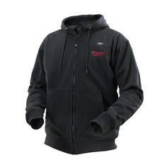 6211316262 Milwaukee Large Cordless Lithium-Ion Black Heated Hoodie Kit (Battery and  Charger - The Home Depot