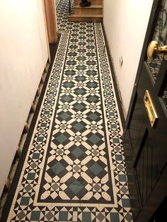 We specialise in Victorian Hallway Tiles and we offer an expert services in sorcing and laying traditional Victorian floor tiles hallway Victorian Tiles Bathroom, Victorian Mosaic Tile, Edwardian Bathroom, Hall Tiles, Tiled Hallway, Victorian Flooring, Hall Flooring, Flooring Tiles, Carpet Staircase