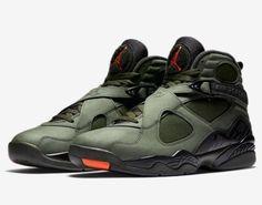 Nike Air Jordan 8 Retro Take Flight Size Sequoia Black Orange 305381 305 a3e865f9f
