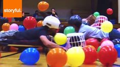 Hungry Hungry Hippos WITH HUMANS- need to find a way to make this a math game...