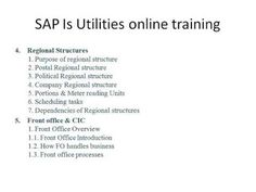 SAP Is Utilities online training | is oil and gas | is retail | bpc | gr...