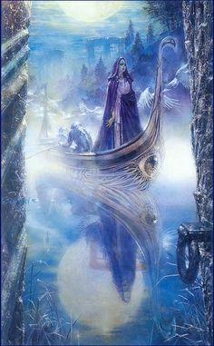 "Avalon Camelot King Arthur:  ""The Mists of #Avalon,"" by Doug Beekman."
