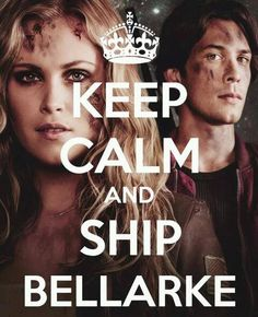 #Bellarke I WANT THEM TO BE TOGETHER! I love Bellamy... So maybe me and him instead...