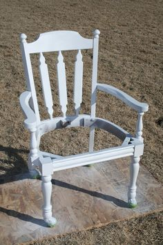 Old Desk Chair {Gets A New Life} -