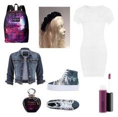 """Untitled #113"" by mikayla-burgess ❤ liked on Polyvore featuring MAC Cosmetics, WearAll, Christian Dior, Jeffrey Campbell, maurices and JanSport"