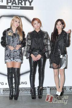 2NE1's CL, MINZY & DARA @ NONA9ON 1ST PARTY IN SEOUL