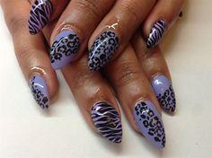 Animal print by jpotoma - Nail Art Gallery nailartgallery.nailsmag.com by Nails Magazine www.nailsmag.com #nailart
