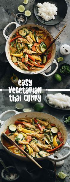 easy vegetarian thai curry