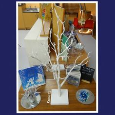 """Winter tree for threading activities on the Finger Gym - from Rachel ("""",)"""