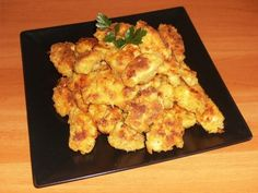 Nuggets - imagine 1 mare Food Inspiration, Carne, Cauliflower, Appetizers, Chips, Snacks, Meat, Chicken, Vegetables