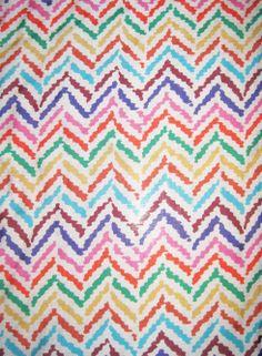 Silk/Cotton Lawn Zig - Zag Missoni Style Fabric - eBay