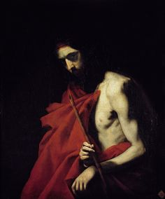 Josepe de Ribera - Ecce Homo, 1620. Oil on Canvas Real Academia de Bellas Artes.
