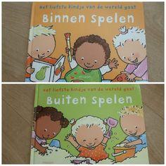 Binnen spelen – Buiten spelen omkeerboek Marianne Busser Ron Schröder Pauline Oud rijm spelletjes herkenning Moon baby- en peuterboeken
