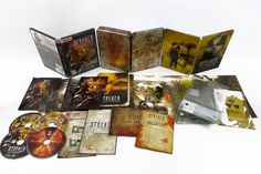 S.T.A.L.K.E.R Shadow Of Chernobyl, Clear Sky, Call Of Pripyat Collectors Edition