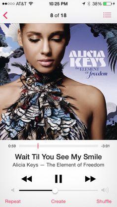 Alicia keys...
