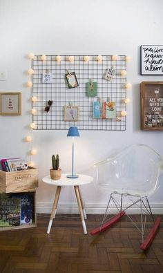 Quer um quadro de avisos aramado igual aqueles cafofos lindos do Pinterest? Compre em nossa lojinha! Somente 29,90!!