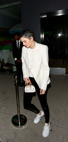 Kendall Jenner leaving Guess Model Event In Los Angeles