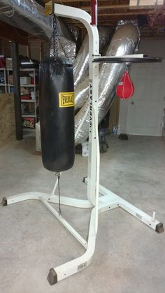 Punching Bags 30101: Everlast Dual Station Punching Bag With Stand And Speed Bag – Includes Gloves -> BUY IT NOW ONLY: $150 on eBay!