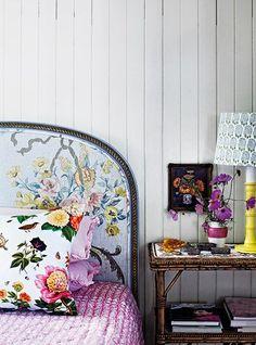 floral tree pattern headboard