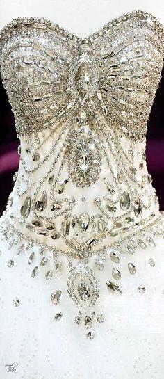 Swarovski Crystal Gown: