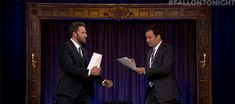 New trendy GIF/ Giphy. jimmy fallon fight tonight show ben affleck wait fallon tonight kid theater. Let like/ repin/ follow @cutephonecases