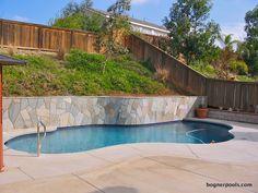 retaining wall pool